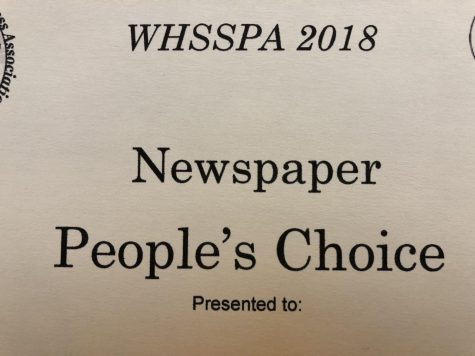 2018 WHSSPA State Journalism Results