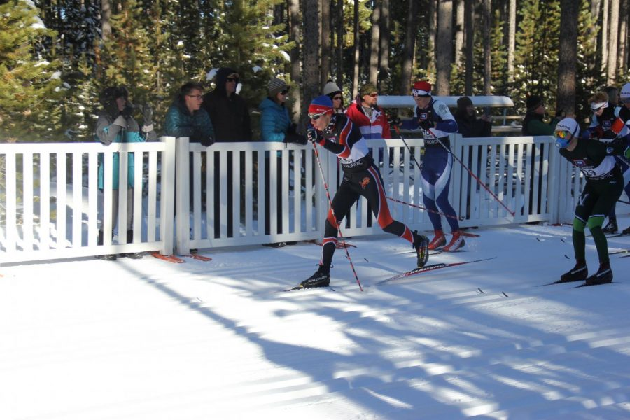 NC Mustangs sweep first cross country ski meet of the season