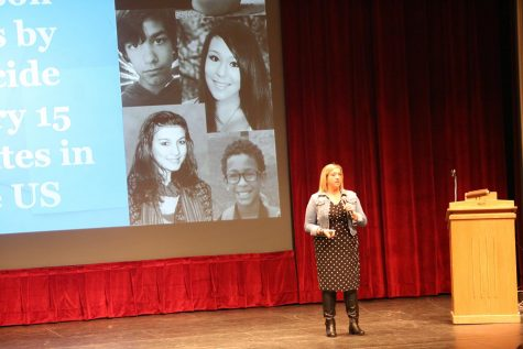 Students hear Tina Meier's story