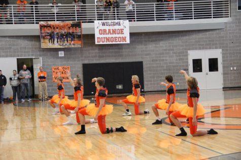 "NC football players perform ""Football Ballet""."