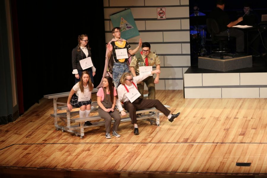 NC performs The 25th Annual Putnam County Spelling Bee