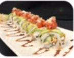 The Kraken Chef Roll is another delicious order at Dsasumos.