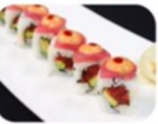The Red Dragon Chef Roll is a popular order at Dsasumos.