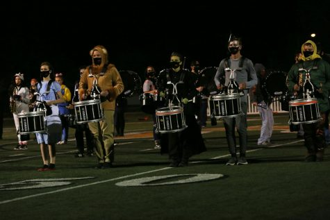 The snareline's themed costumes