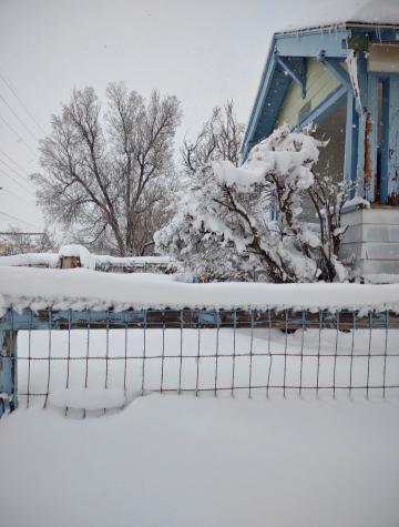 The third largest winter hits Casper, Wyoming